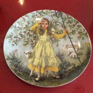 {5 for $25} Little Bo Peep plate